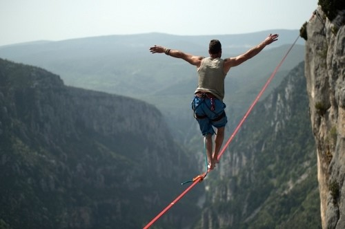 3 simple ways to start investing tight rope
