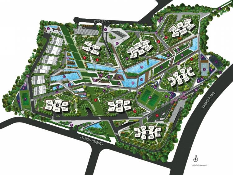 image 3 - dleedon siteplan